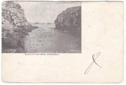 #Z.9511 United Kingdom, Scotland, Stornoway UPU Postcard Mailed 1899: Mouth Of The Creek, Boats - Autres
