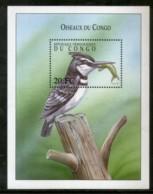 Congo Zaire 2000 Pied Kingfisher Birds Wildlife Animal Sc 1540 M/s MNH # 13569 - Democratic Republic Of Congo (1997 - ...)
