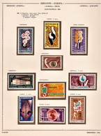 EUROPAFRICA 1963 I° E 2° EMISSIONE POSTA AEREA 1963-64 SERIE COMPLETE NUOVE MNH - Emissioni Congiunte