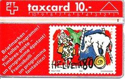 Stamp Timbre éléphant Olefant Elephant  Cirque Télécarte Suisse Taxcard Phonecard  (G 106 ) - Stamps & Coins