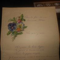 Très Jolie Lettre. Dessin En Relief Ainsi Que Le Tour De La Lettre. 1919. - Manuscrits
