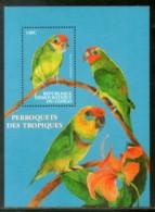 Congo Zaire 2000 Coxen's Fig Parrot Birds Wildlife Animal Sc 1542 M/s MNH #13573 - Democratic Republic Of Congo (1997 - ...)