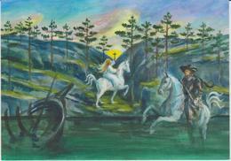 Aland Postcard 2008 - Nordic Myths - Painting By Juha Pykäläine - Created As Bock 7 - Aland