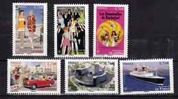 France 4960 4965 Les Années 60 Neuf TB ** MNH Sin Charnela Prix De La Poste 4.56 - Ongebruikt