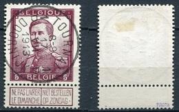 Belgien Nr.99 Geprüft Piroth        O  Used       (921) - 1912 Pellens