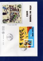 BF55 - Lucky Luke -  Grande Enveloppe - FDC