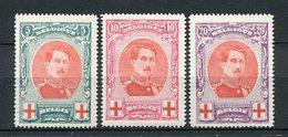 Belgien Nr.110/2        *  Unused       (925) - 1914-1915 Rotes Kreuz