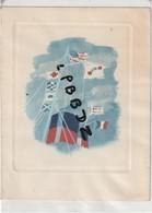 CARTE VOEUX - MARINE - COMPAGNIE GENERALE TRANSATLANTIQUE - Jean MARIE - Président 1939 - 1940 - Paquebots