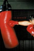 24J : Boxer Punching Bag Training Advertisement Card - Boxing