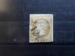 Empire No 13 B Type II Obl GC 1243 De CRUZY LE CHATEL , Yonne , Ind 6 , TB - 1853-1860 Napoleon III