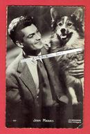 JEAN MARAIS CARTE PHOTO DEDICACEE 22.10.1946 ACTEUR FRANCAIS CHERBOURG EN COTENTIN 1913 CANNES 1998 - Fotos Dedicadas