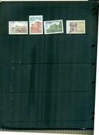 ESPAGNE CHATEAUX 2001 4 VAL NEUFS A PARTIR DE 1 EURO - 1931-Aujourd'hui: II. République - ....Juan Carlos I
