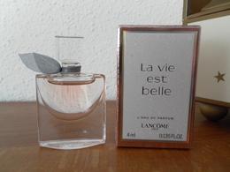 ACHAT IMMEDIAT;;;;;; MINIATURE LA VIE EST BELLE DE LANCÔME 4 ML EAU DE PARFUM - Miniatures Modernes (à Partir De 1961)
