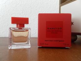 ACHAT IMMEDIAT;;;;;; MINIATURE NARCISO DE NARCISO RODRIGUEZ 7,5 ML EAU DE PARFUM ROUGE - Miniatures Modernes (à Partir De 1961)