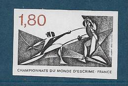 France Timbres De 1981  N°2147a Non Dentelé Neuf **gomme Parfaite Cote 45€ - Nuovi