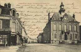 ETRAPEGNY (Eure) La Mairie Et La Grande Rue RV - Autres Communes