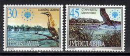 Yugoslavia,Protection Nature 2001.,MNH - 1992-2003 República Federal De Yugoslavia