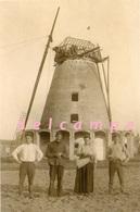 SEMMERZAKE - Gavere (O.Vl.) - Molen/moulin - Stenen Molen De Ronne In 1919 Tijdens Het Herstel Van De Oorlogsschade - Gavere