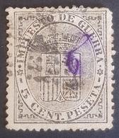 1875, Impuesto De Guerra, Kingdom, Spain, España - 1875-1882 Königreich: Alphonse XII.