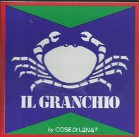 Autocollant - Il Granchio By Cose Di Lana - Autocollants