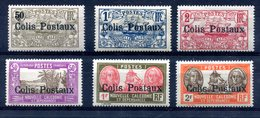 Nouvelle-Calédonie : Colis Postaux Yvert 1 à 6 - Neufs Avec TC - T 837 - Sonstige