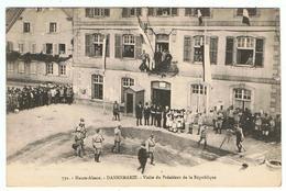 Dannemarie / Visite Du Président De La République / Ed. Chadourne - Dannemarie