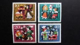 """Deutschland Berlin 237/40 **/mnh, Wohlfahrt 1964: Szenen Aus Dem Märchen """"Dornröschen"""" - Unused Stamps"""