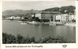 007492  Gmunden - Blick Auf Esplanade Und Landungsplatz  1950 - Gmunden