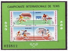 ROMANIA 4466-4469,unused,tennis - Tennis