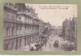 LYON  PLACE DES CORDELIERS BOURSE EGLISE ST BONAVENTURE - Lyon