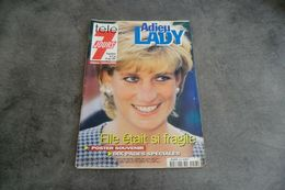 Magazine Télé 7 Jours Du 13 Au 19 Septembre 1997 - Adieu LADY - Avec Le Poster - - Programas