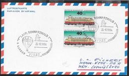 GERMANY - ANNULLO SPECIALE LAHR,SCHWARZWALD 1 - LAHRER MONTGOLFIADE 26.08.1994 SU CARTOLINA - [7] Repubblica Federale