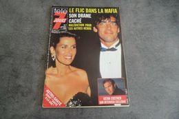 Magazine Télé 7 Jours Du 2 Au 8 Janvier 1993 - Le Flic Dans La Mafia - - Programas