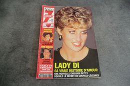 Magazine Télé 7 Jours Du 13 Au 19 Février 1993 - Lady Di - Sa Vraie Histoire D'amour - Programas