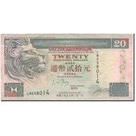 Billet, Hong Kong, 20 Dollars, 1993, KM:201c, TTB - Hong Kong