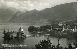 007498  Gmunden Am Traunsee - Schloss Ort Im See U. Forstschule  1951 - Gmunden