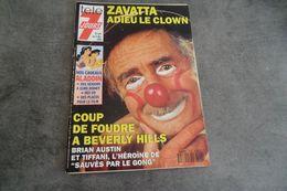 Magazine Télé 7 Jours Du 27 Au 3 Décembre 1993 - Zavatta Adieu Le Clown - Programs
