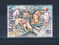 Slovenia 350 MNH Rescue Dogs 1999 CV 1.25 (S0979)+ - Slovenia