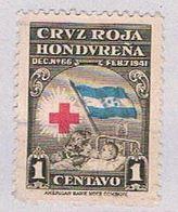 Honduras RA3 Used Mother And Child 1945 (BP3074) - Honduras