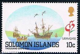 Solomon Islands 713 MNH Thousand Ship Bay 1992 (S0997) - Solomon Islands (1978-...)