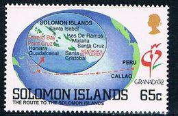 Solomon Islands 714 MNH Route To The Islands 1992 CV 1.50 (S0998) - Solomon Islands (1978-...)