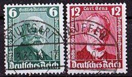 DEUTSCHES REICH Mi. Nr. 604-605 O (A-3-19) - Deutschland