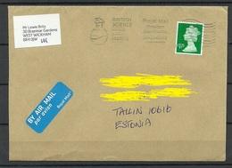 GREAT BRITAIN 2019 Air Mail Cover To Estonia Queen Elizabeth II - 1952-.... (Elizabeth II)