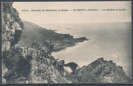 CPA [50] - Environs De Cherbourg - La Hague - De GOURY A JOBOURG - Les Rochers El La Mer - Cherbourg