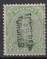 BELGIË - OPB - 1915 - Nr 137 TYPE I - (TONGEREN/TONGRES) - Griffes Linéaires