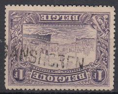 BELGIË - OPB - 1915 - Nr 145 (T/D 14) - (GANSHOREN) - Griffes Linéaires