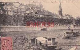 69 - Lyon - Quai Fulchiron - Eglise Saint Georges - Coteau De Fourviere - Lyon