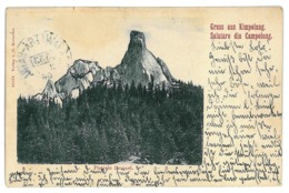 RO 46 - 11041 CAMPULUNG, Bukowina, Romania, Pietrele Doamnei - Old Postcard - Used - 1906 - Rumänien