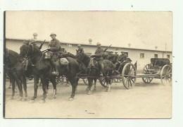 Militairen -Belgie - Zie Tekst  Hooglede 1914-18 Op Kar - Fotokaart - Militaria