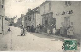 CPA Lardy La Rue Du Bourbier - Lardy